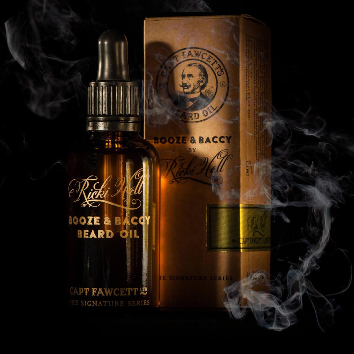 Booze & baccy beard oil