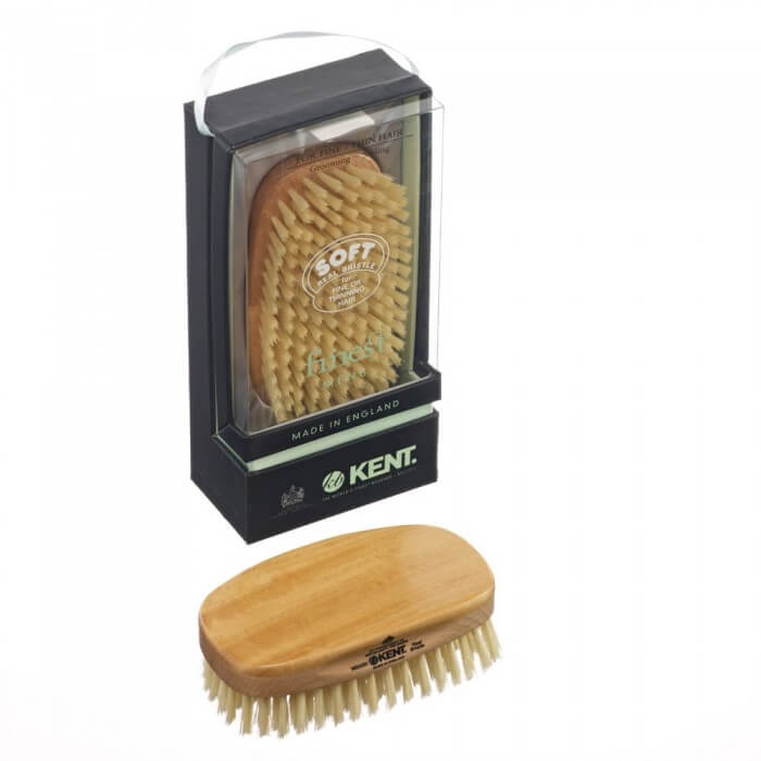 Kent hair brush for men MS23d