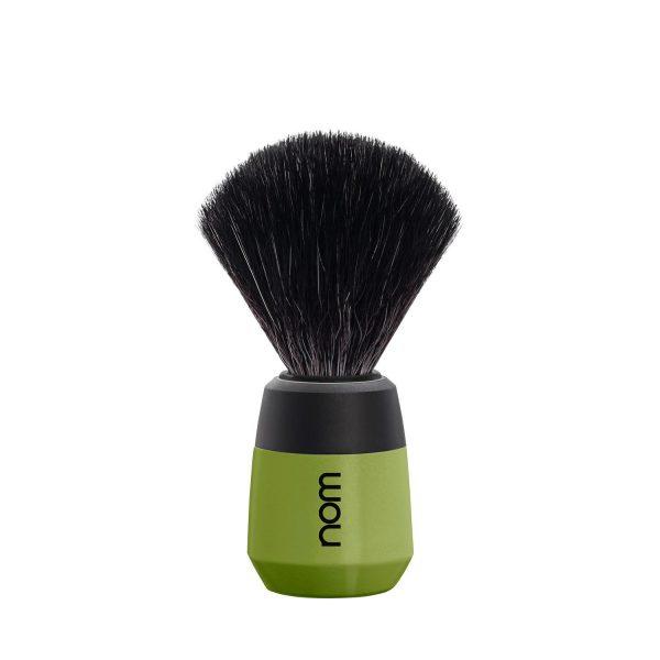 Olive vegan shave brush